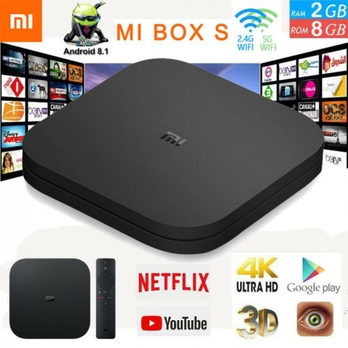 Mi Tv Box S 4K Android