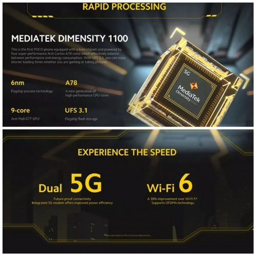 Pocophone X3 GT 8GB/256GB 5G