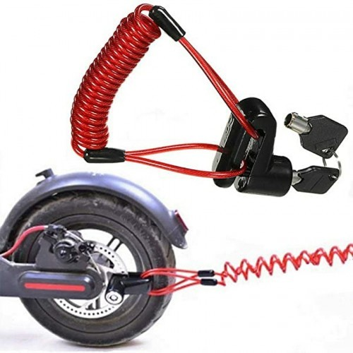 Disk Lock scooter & Steel Wire For Scooter
