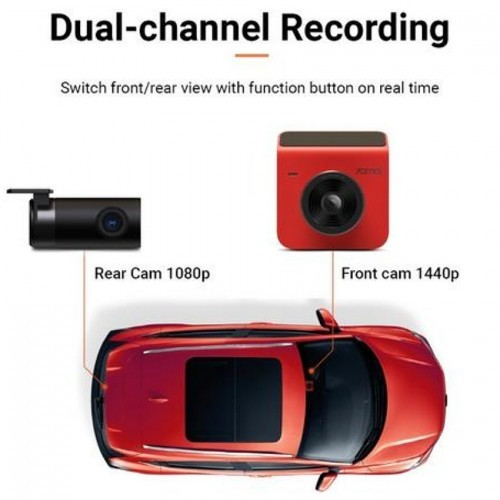 70mai A400 Dash Cam + Rear Cam Set