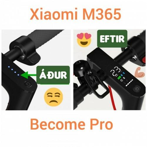 Mælaborð fyrir Xioami M365 rafmagnshlaupahjól
