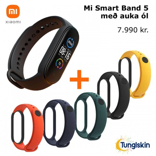 Mi Smart Band 5 + Mi Strap Band 5